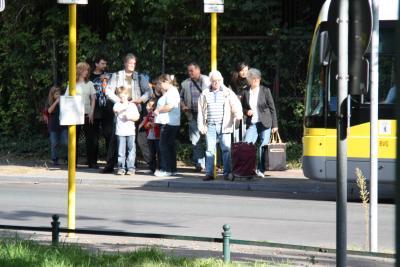 Im BVG-Bus lieber sitzen als stehen