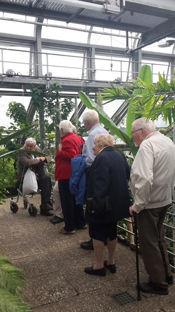Eichkamper Uhus im Botanischen Garten, kleine Impressionen