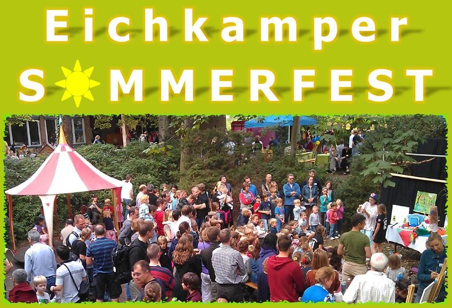 Sommerfest im Garten von Haus Eichkamp, Samstag, 7.9.2019, 15-??? Uhr