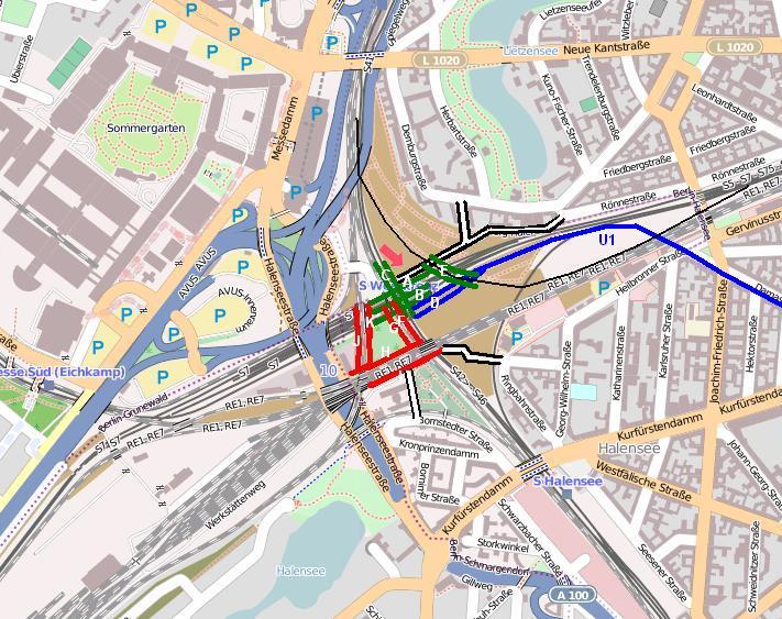 Wie geht es weiter mit dem Gelände zwischen den Gleisen (ehem. Güterbahnhof Grunewald) und rund ums Westkreuz? Diskussionsveranstaltung am 16. Mai