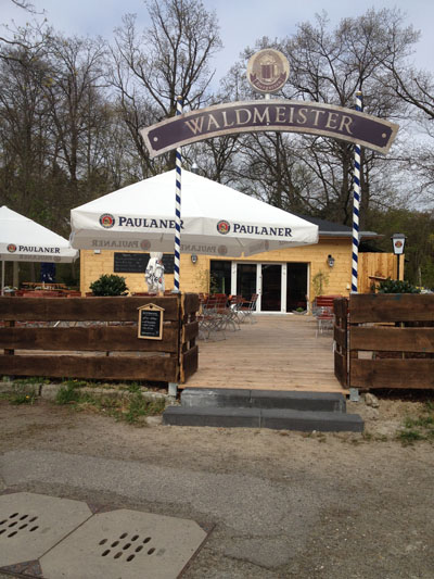 Neuer Biergarten an altem Standort: WALDMEISTER