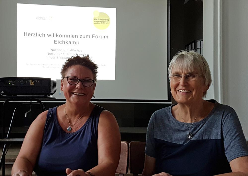 Vorbildliche Nachbarschaftshilfe – ein Artikel über das Hilfenetzwerk für Senioren in der Berliner Woche