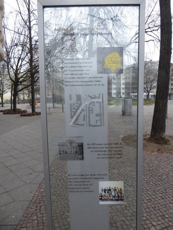 Treffen der Stolperstein-Initiative am 24.4. am Nikolsburger Platz