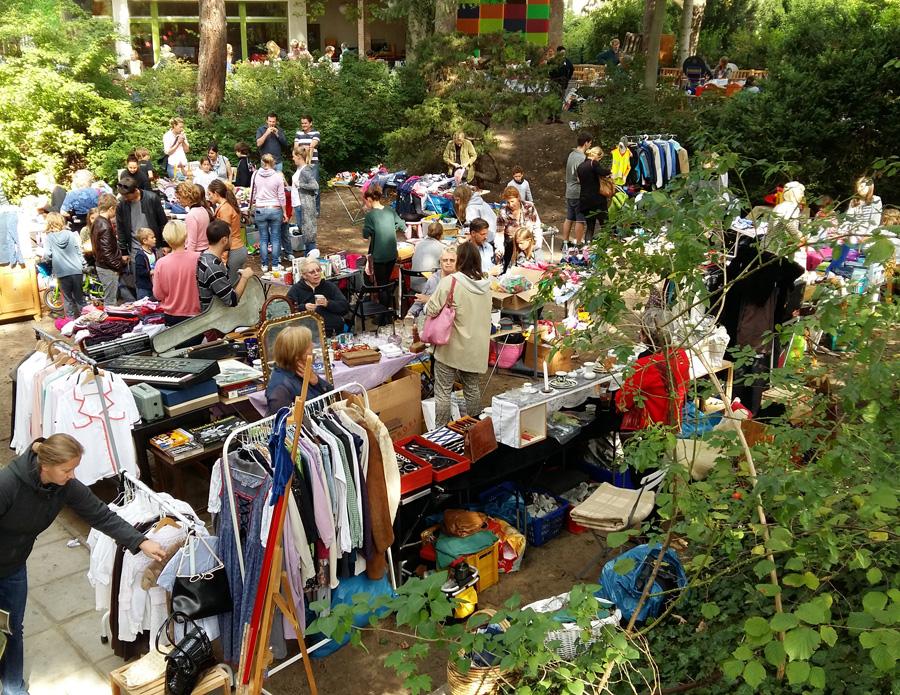 7. Flohmarkt am Haus Eichkamp am 9. September ab 9:00 Uhr