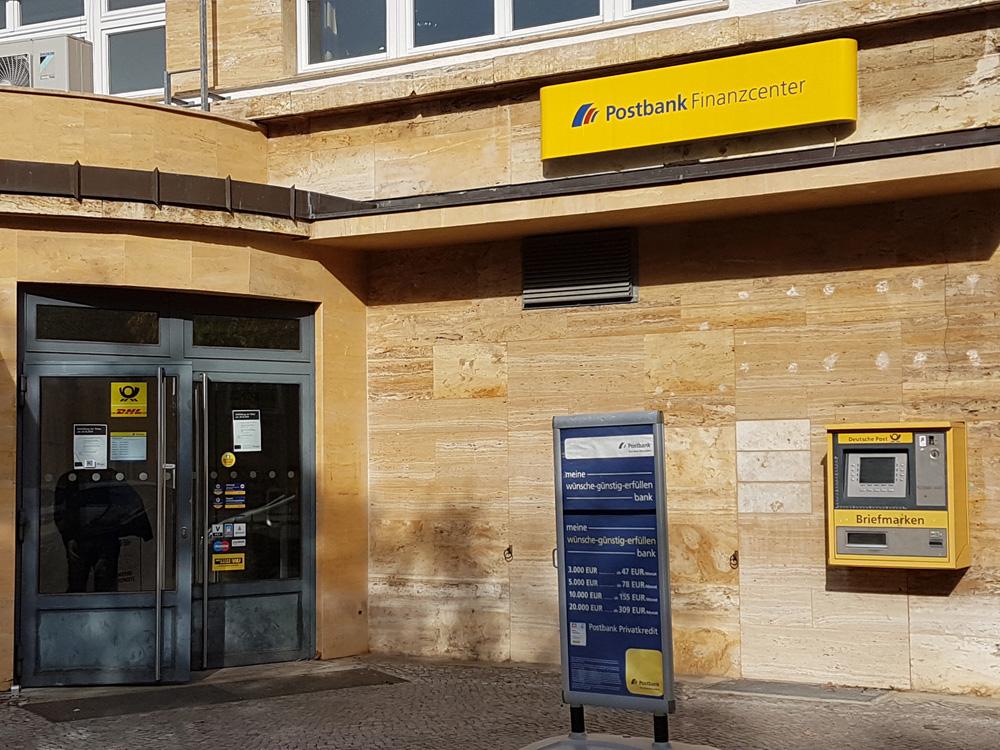 Postfiliale am Steubenplatz soll am 24.10.2018 geschlossen werden