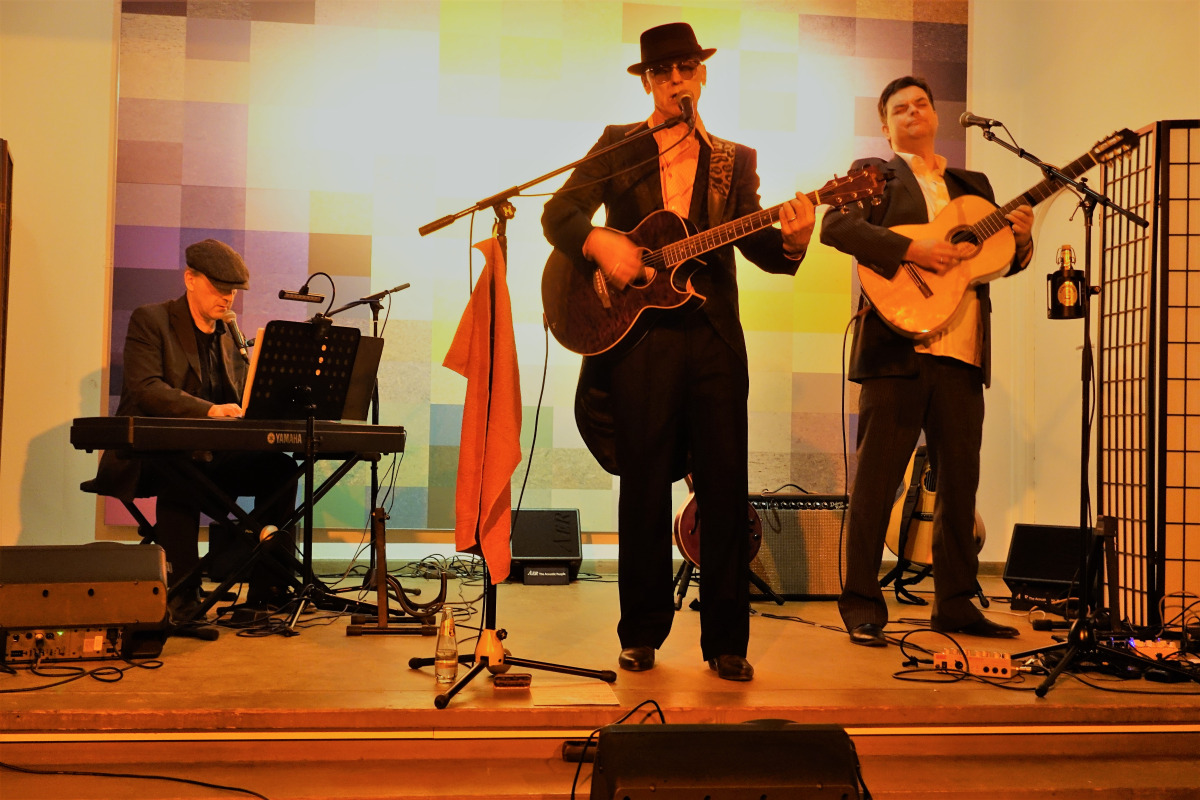 Niko and the Dukes am 24. November im Haus Eichkamp