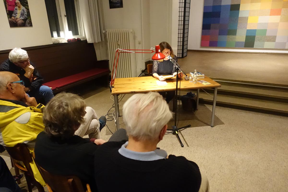 Gestern Abend volles Haus beim Forum Eichkamp