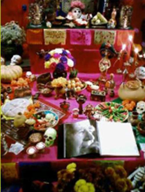 Mexikanisches Totenfest – Informationsveranstaltung mit Angela Fournes, Samstag, 9.11.2019, 19 Uhr