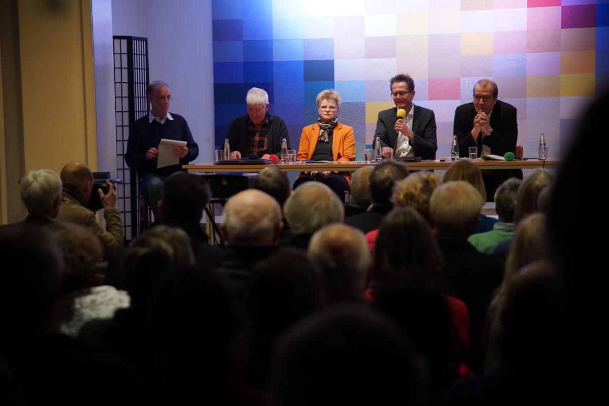Autobahndreieck Funkturm: Bürger fordern Politiker heraus