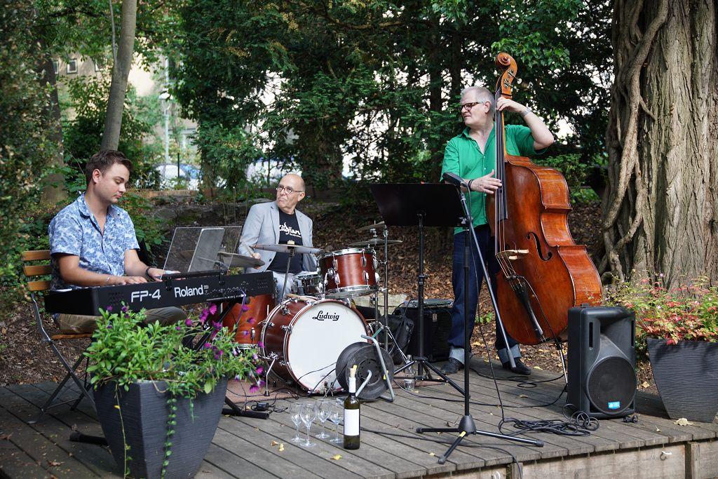 Jazz im Garten am 14. Juni