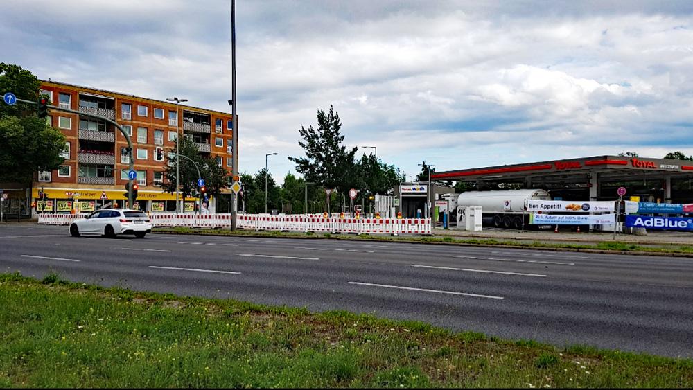 Komplettsperrung der Jaffestraße über die gesamten Sommerferien