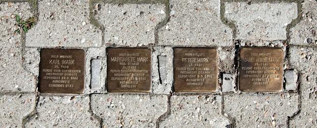 Tag des Denkmals Samstag 12.9. – Rundgang entlang einiger Stolpersteine