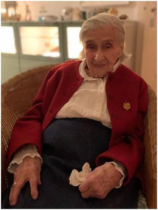 Nachruf auf Helga Kopp, die seit 1927 in Eichkamp wohnte