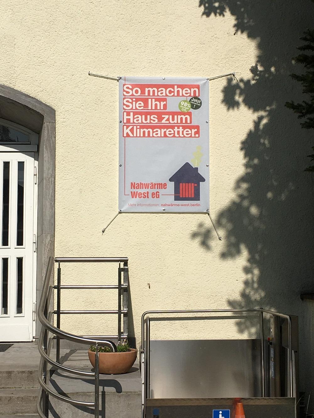Nahwärmeversorgung im Eichkamp: Werbeaktionen für die Teilnahme